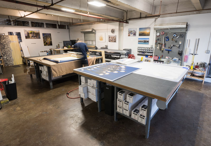 Museum quality gallery wrapped canvas made right here in san francisco.